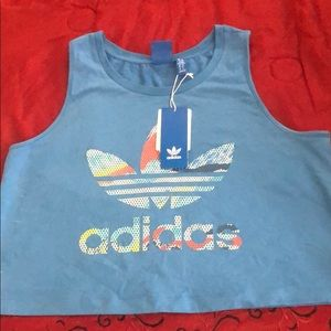 Brand New Adidas Crop/Muscle Shirt♥️
